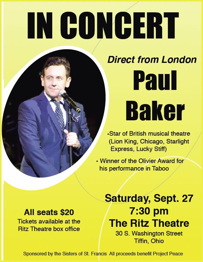 paul baker poster