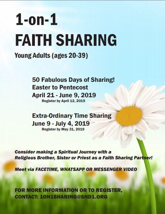 1-on-1 Faith Sharing