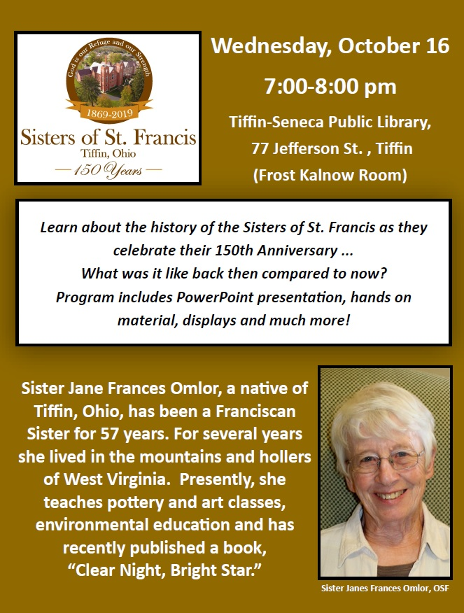 Library Program for 150th Anniversary